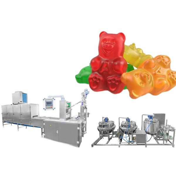 HIgh quality fruit plus chewy candy soft gummy candy maker