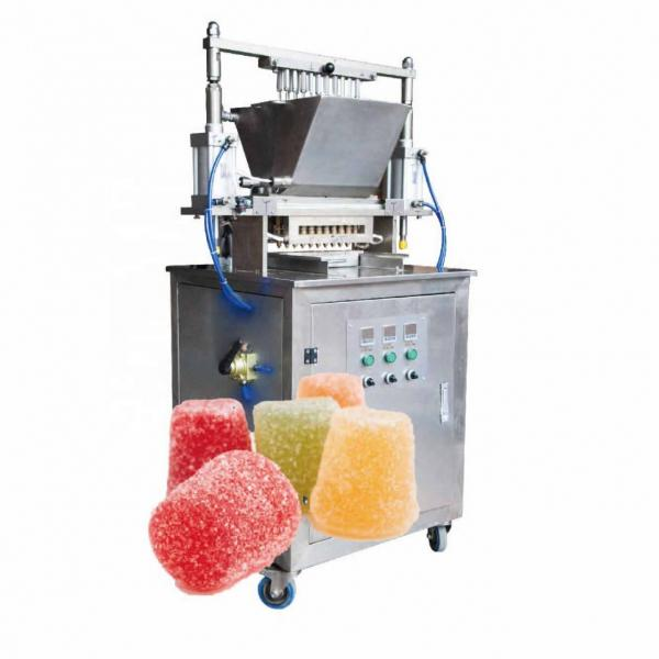 Sweet candy or gummy bear popping candy maker machine
