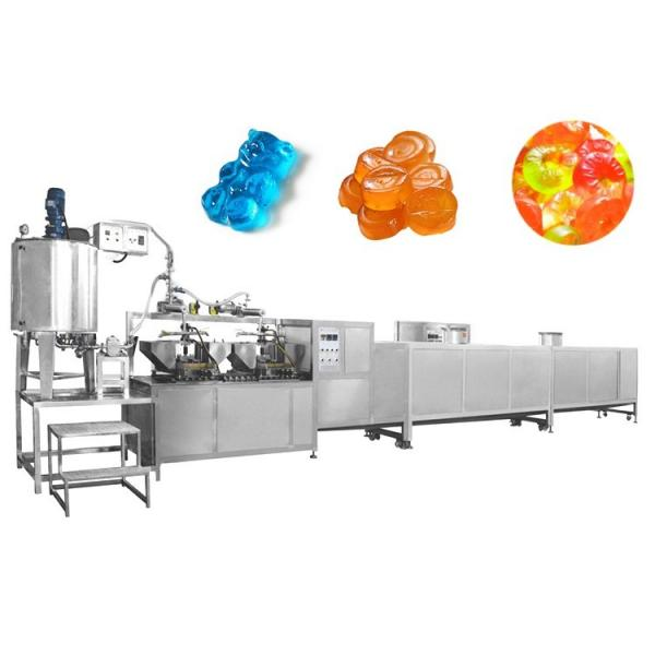 100kg/hour Toffee Candy Making Line Maker Production Line Depositing Machine Jelly Gummy Bear Depositor with CE